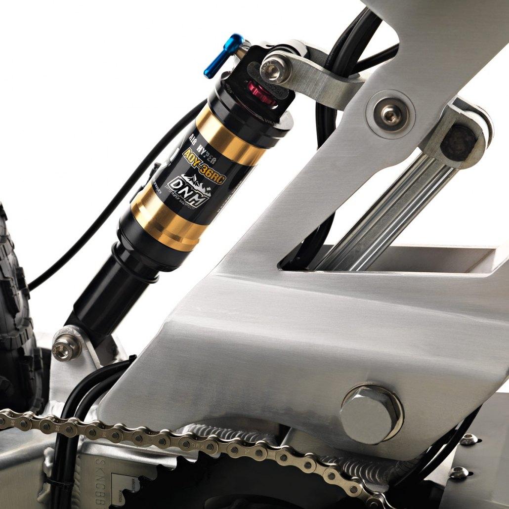carbon ebike club version rear suspension