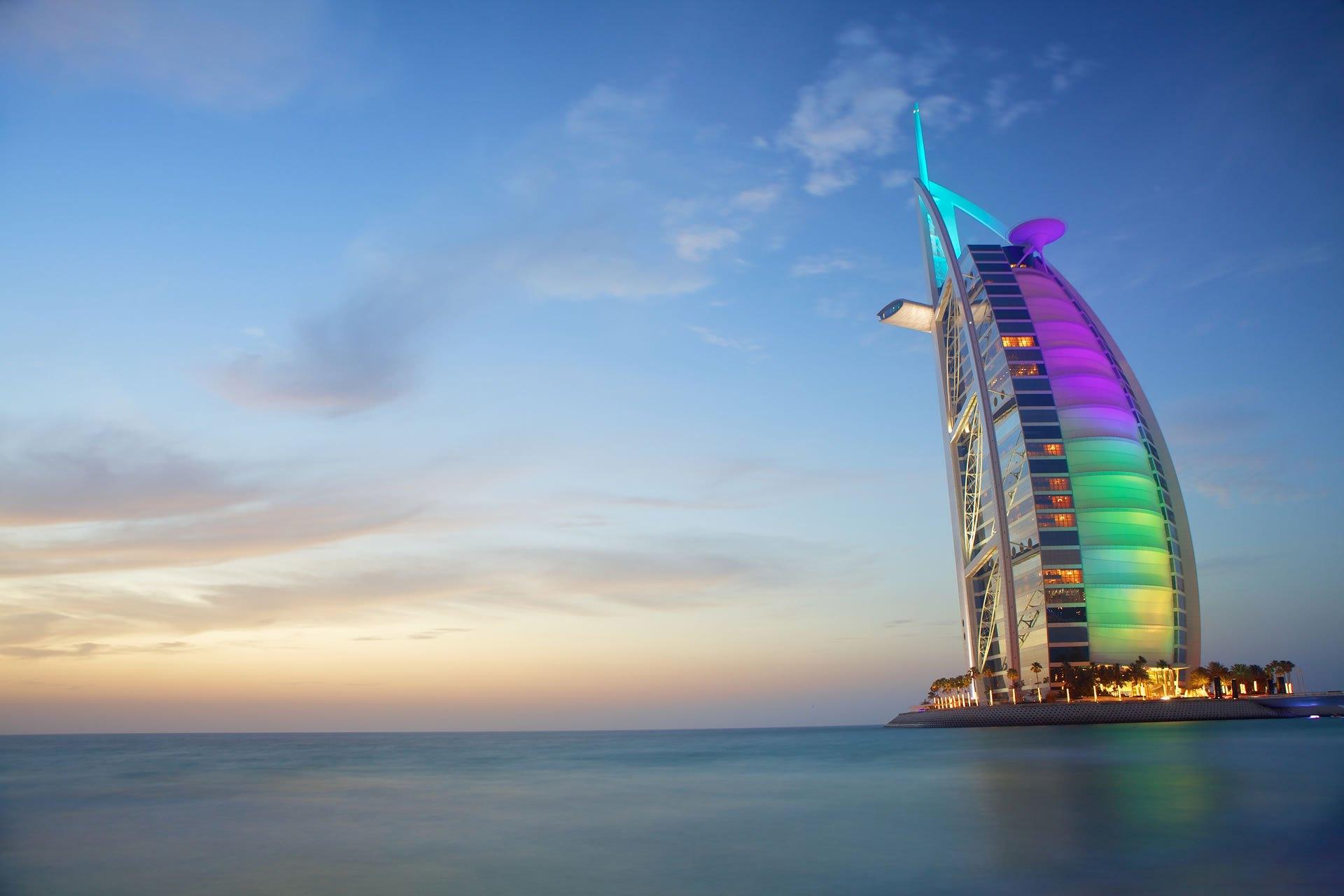 Dubai Burj AlArab OPT