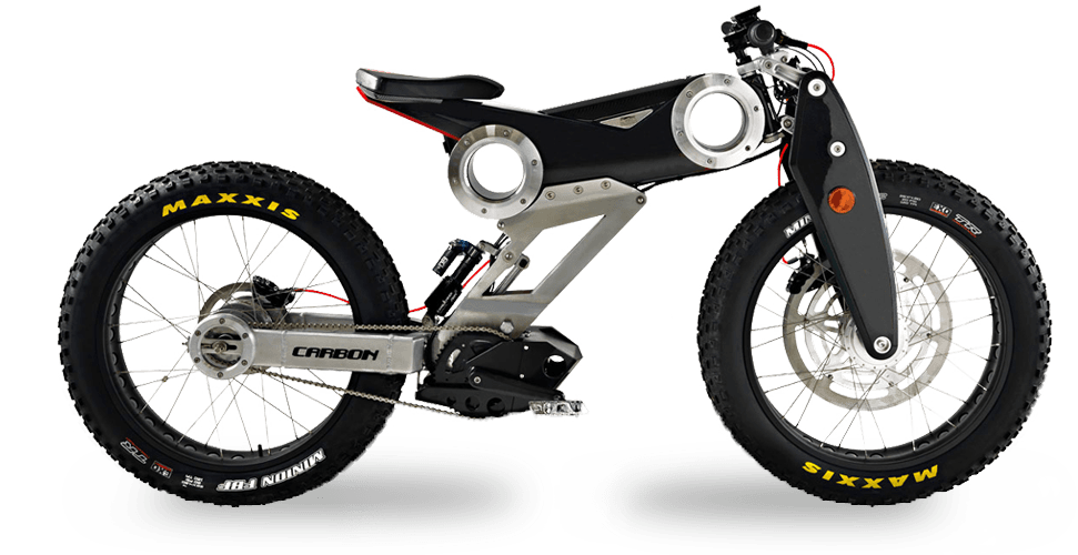 carbon ebike 1000 version 4