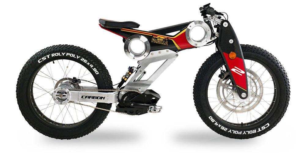 MotoParilla e bike carbon